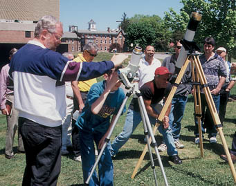 Solar viewing at NEAF