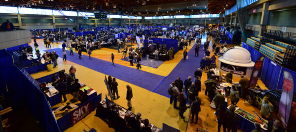Panorama of NEAF 2017 Exhibit Floor