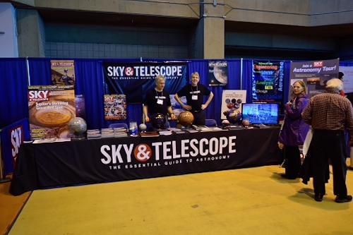 Sky & Telescope booth, NEAF 2017