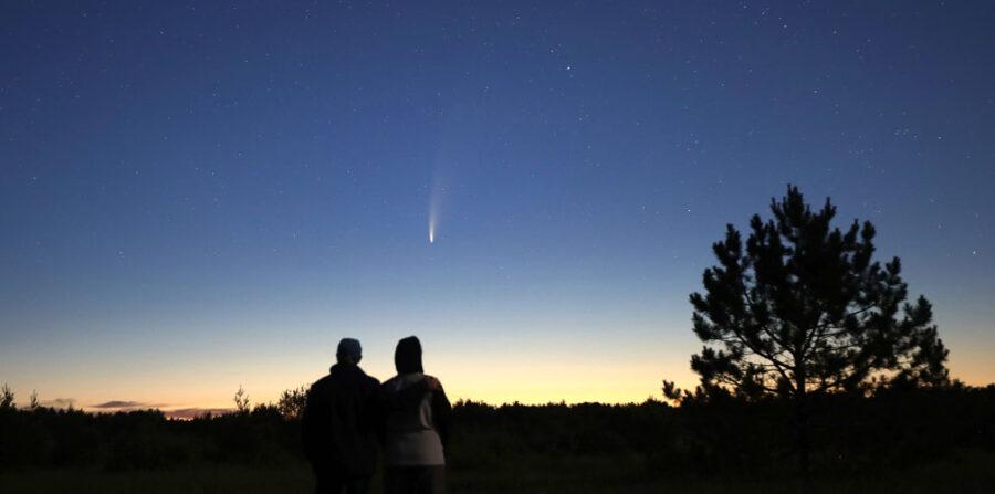 Comet NEOWISE in Minnesota