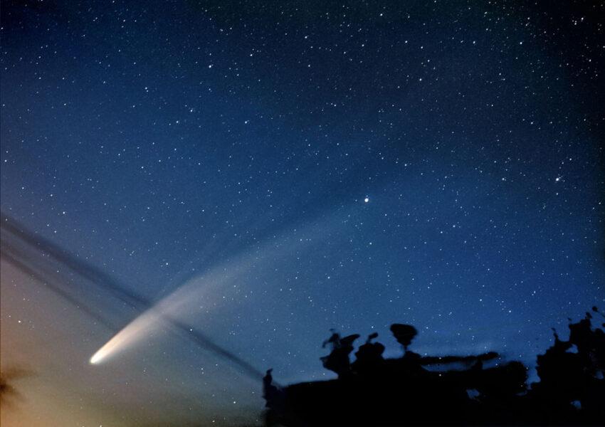 Stunning comet