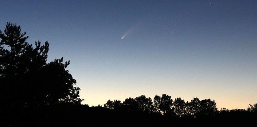 Comet NEOWISE from Duluth, Minnesota