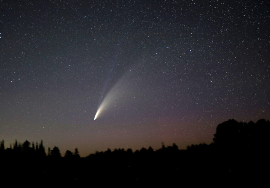 Comet NEOWISE in Minnesota