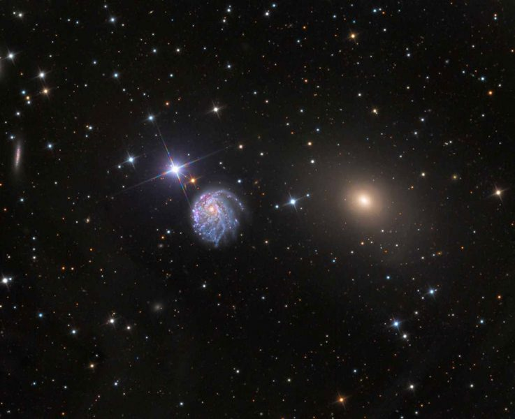 NGC 2276 wide-field view