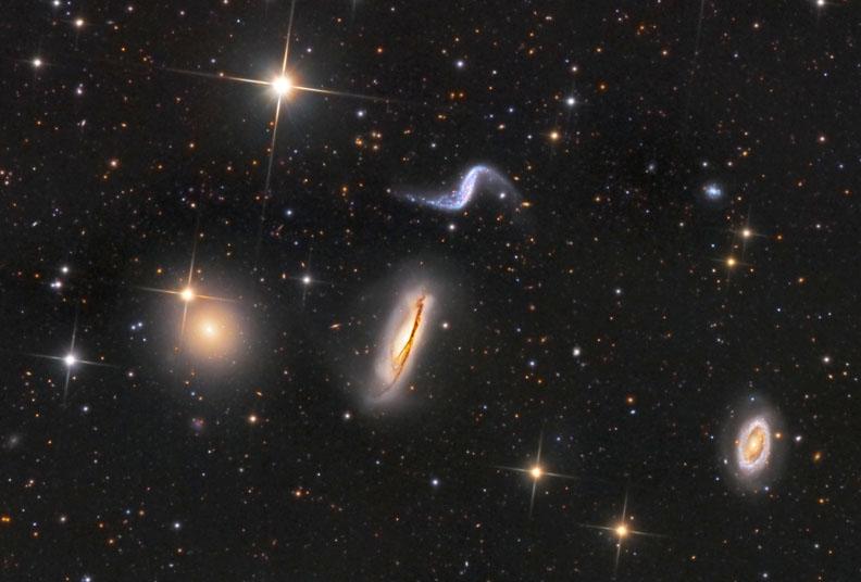 NGC 3190 group / Hickson 44