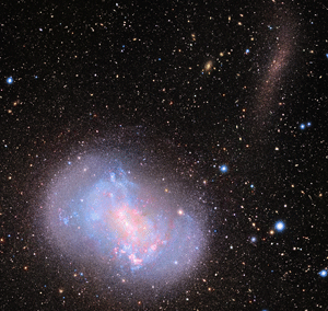 NGC 4449 and satellite