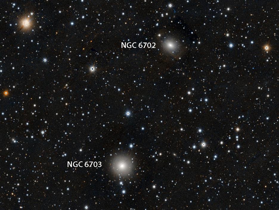 Galaxies in Lyra