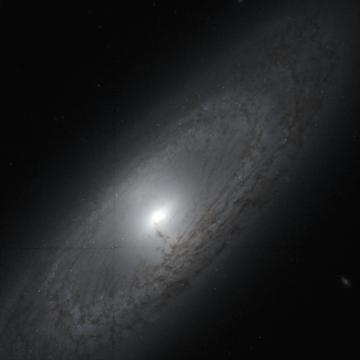 NGC 4448. NASA / ESA / STScI / CADC / NRC / CSA