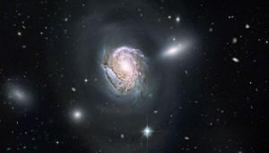 Herschel Sprint: NGC 4911