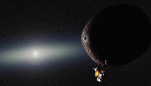 An artist's conception of New Horizons reaching its designated KBO. Alex Parker, SwRI