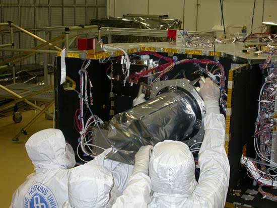 LORRI installed on New Horizons