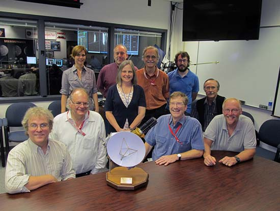 New Horizons' hazards team