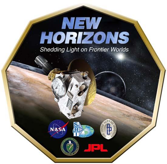 New Horizons' mission logo