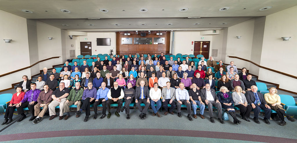 New Horizons mission scientists gathered for a team meeting on January 19, 2015. Rather than being assigned to specific instruments, these researchers belong to six groups that will tackle specific areas of study (such as surface composition or geology).NASA / JHU-APL