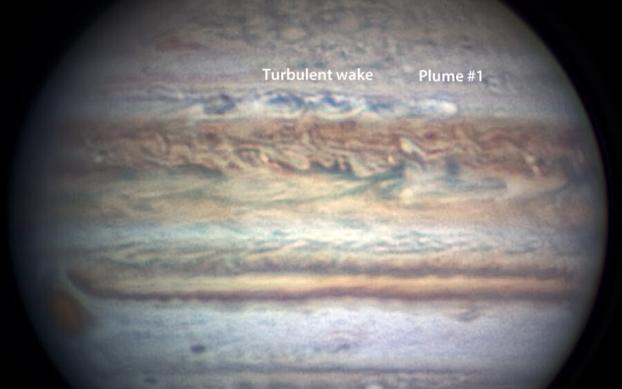 Jupiter's NTB Outbreak #1