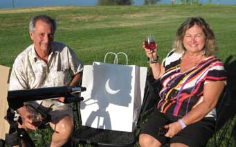 Toasting the solar eclipse