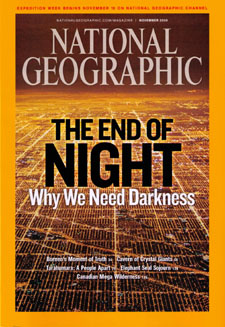 Light pollution cover story