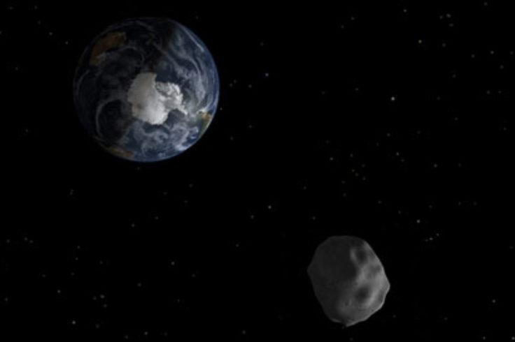 illo of a near-Earth asteroid