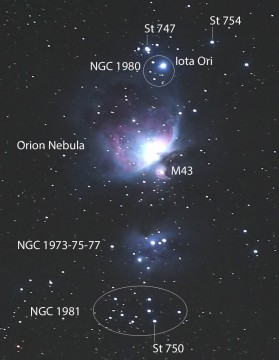 Riches in Orion's Shadow