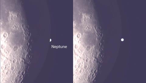 Occultation Neptune, Lambda Aqr