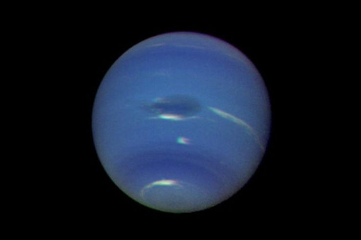 Voyager 2 approaches Neptune in 1989