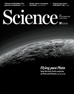 New Horizons Science cover