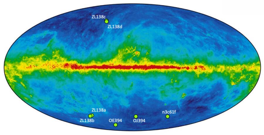 New Horizons imaging regions