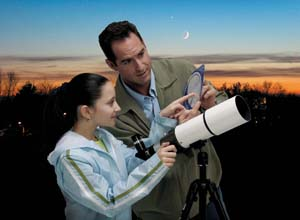 Readying your new telescope