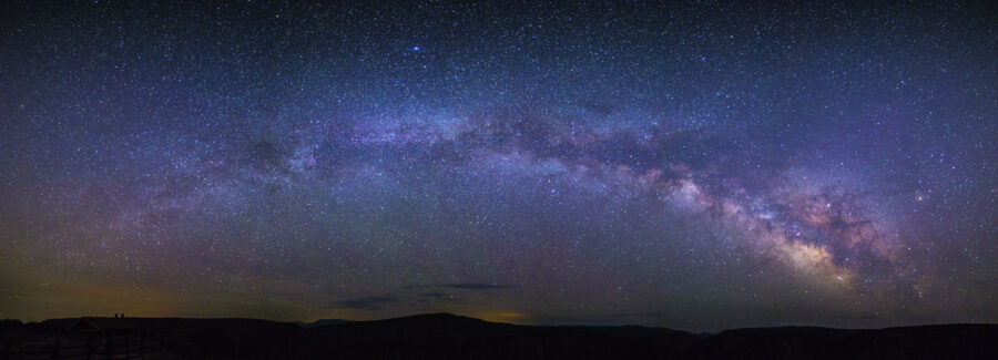 Inernational Dark Sky Week The Milky Way from Black Canyon