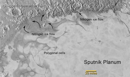 Northern Sputnik Planum