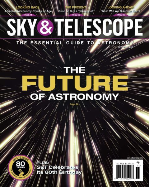 The cover of the November 2021 issue