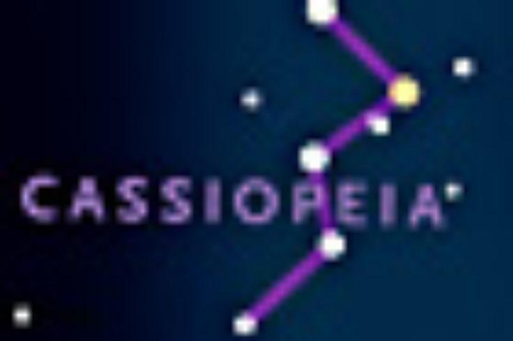 Cassiopeia and Polaris