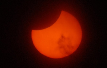November 25th's solar eclipse