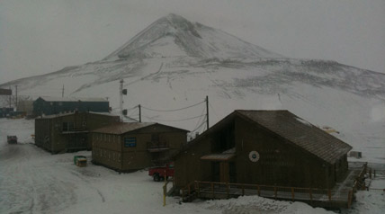No eclipse seen from McMurdo, Antarctica