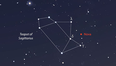 New nova in Sagittarius