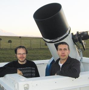 Comet ISON's Artyom Novichonok and Vitali Nevski