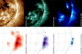 NuSTAR Images Sun