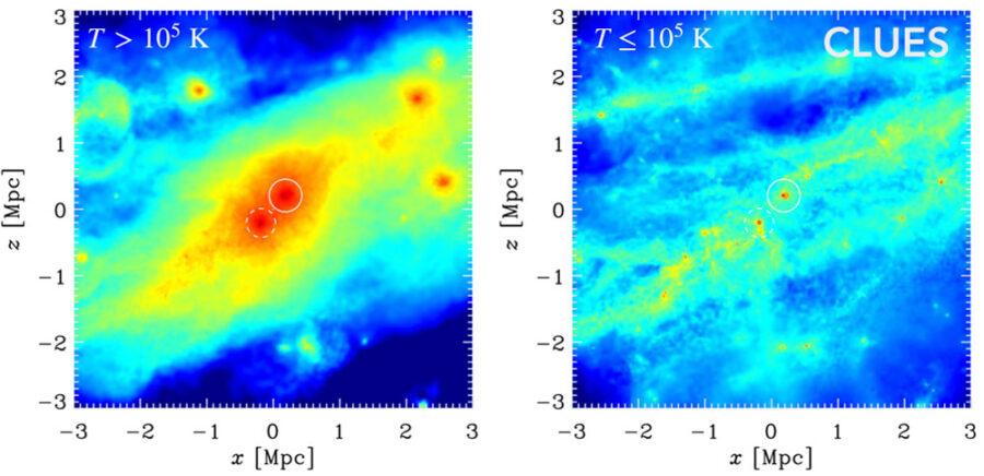 Milky Way and Andromeda galaxies may share a common halo