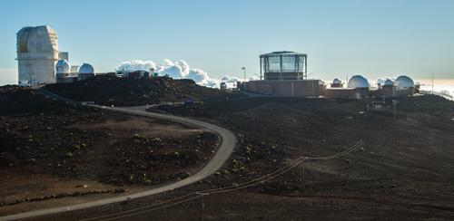 High up observatory