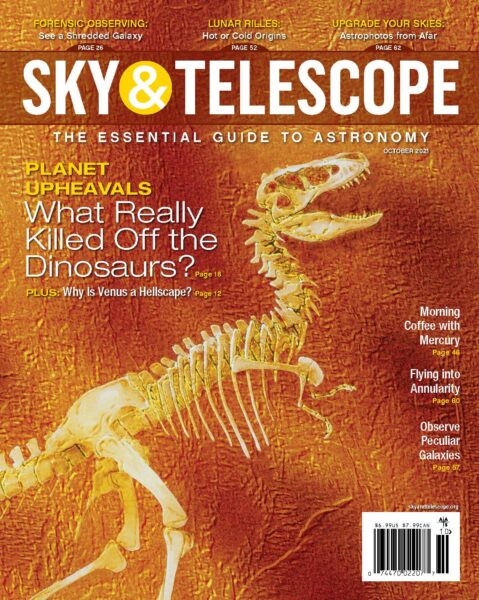 The cover of the October 2021 issue