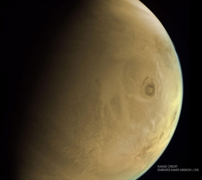 Hope image of Olympus Mons