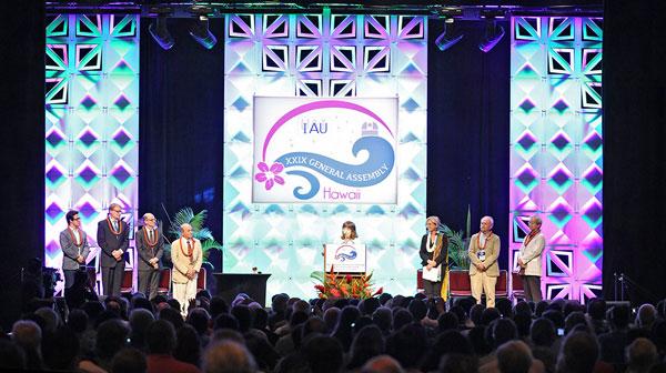 IAU Opening Ceremonies