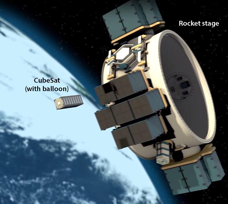 CubeSat away!
