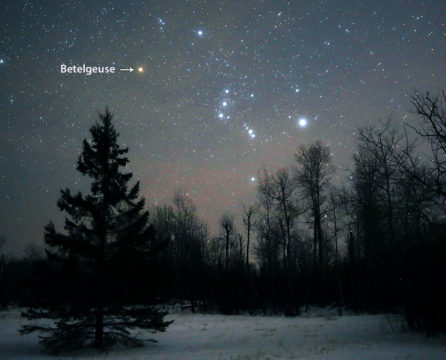 Betelgeuse locator