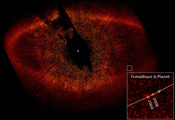 Fomalhaut disk and planet