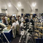 Wall to wall scopes and gear at PATS Saturday, September 13.