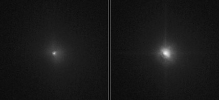 Hubble Views Deep Impact