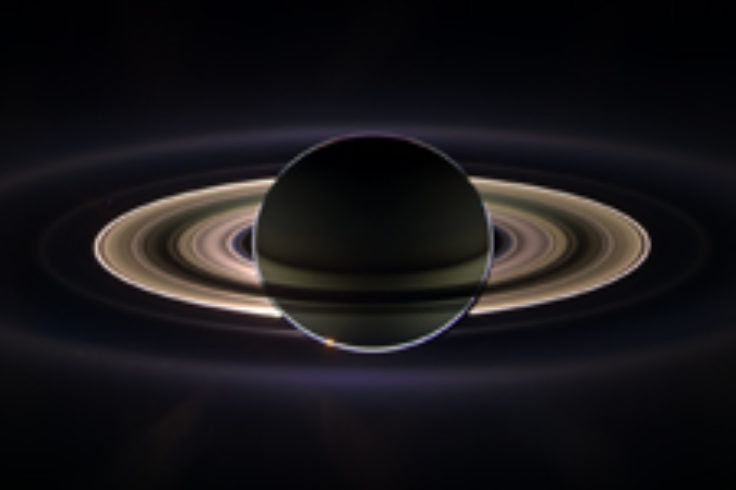Saturn in shadow