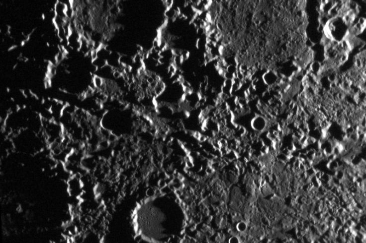 Chaotic terrain on Mercury