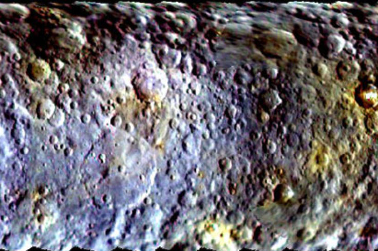Ceres map, slice